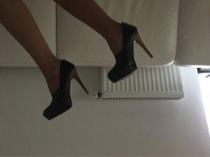 High Heels Schuhe Zara Gr 37 schwarz