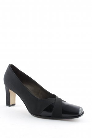 High Heels schwarz Business-Look