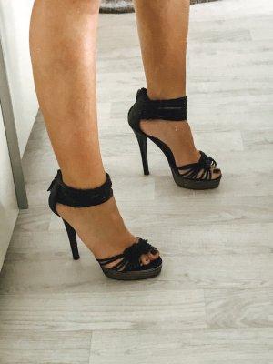 High heels schwarz Gr. 37 Absatzhöhe 10cm