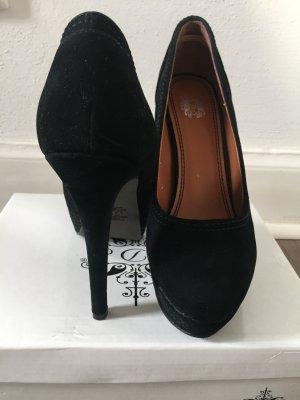 High Heels schwarz Gr. 38