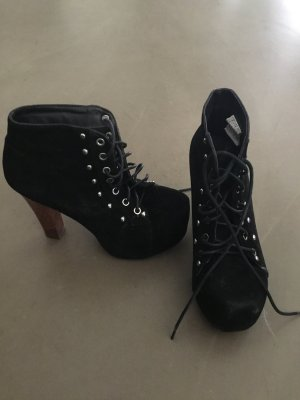 High Heels, schwarz, Gr. 38