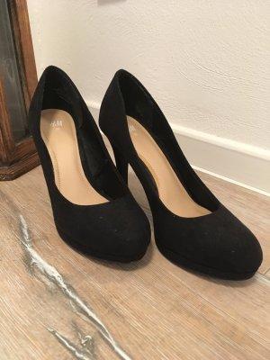 High heels schwarz Hohe Schuhe 38 Pumps 37 zara Blogger
