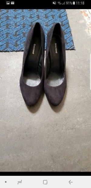 high heels schwarz neu