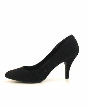 High Heels schwarz spitz 41