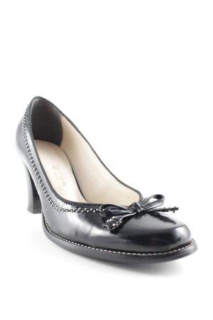 High Heels schwarz-weiß Elegant