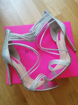 High Heels Silber Betsey Johnson