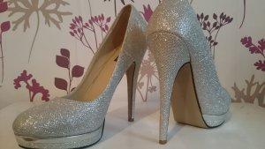 High Heels silber Gr. 40