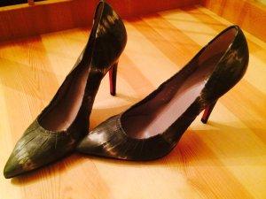 High Heels spitz pointed Pumps von Ursula Mascaro Menorca pinke Sohle! NEU
