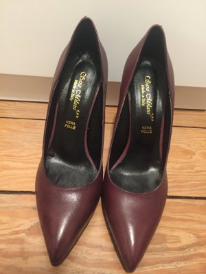 High Heels Vera Pelle/Sara Milani, made in italy, neu