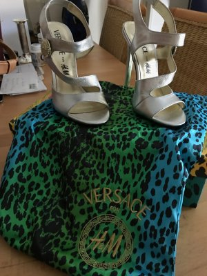 High Heels Versace x HM - silber