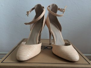 High Heels von ASOS in apricot Ton