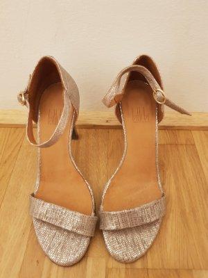 Billi Bi High Heels silver-colored-mauve