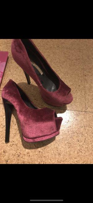 Buffalo London High Heels violet-pink