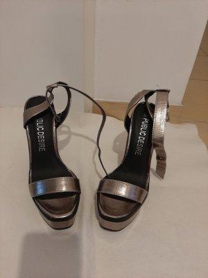 Public Desire High Heel Sandal bronze-colored