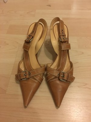 Sergio Rossi High Heel Sandal cognac-coloured
