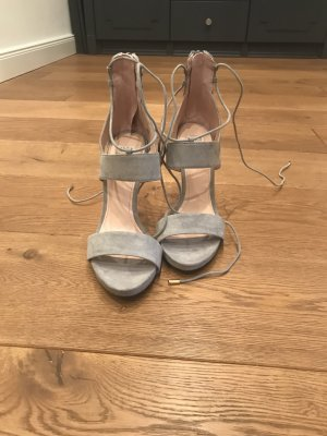 High Heels von Zara in blau/ Grau
