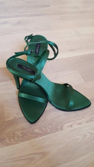High Heels von zara in grün