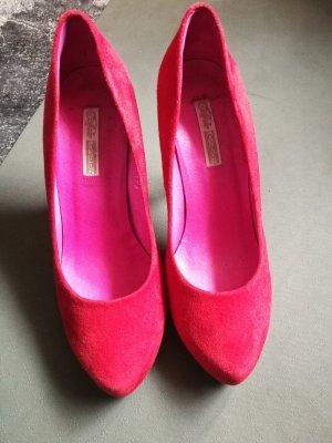High heels wildleder