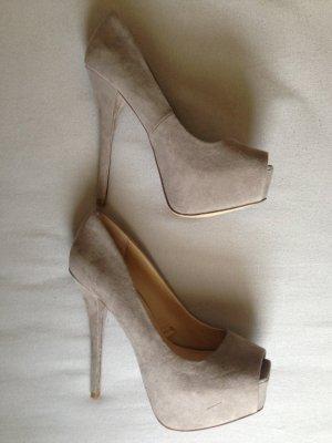 High heels Zara 36 beige