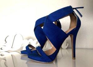 High Heels Zara Blau