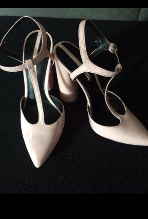 Zara Zapatos de tacón con barra en T multicolor
