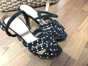 High heels Zara Wildleder mit Strass