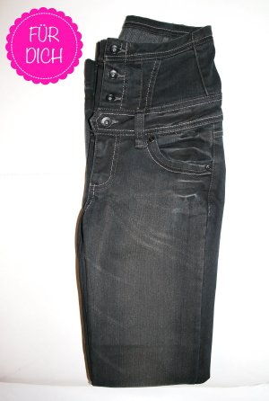 Only High Waist Jeans multicolored cotton