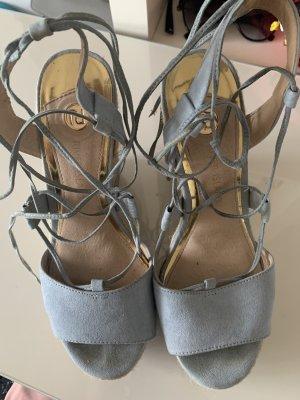 High peptoe heels