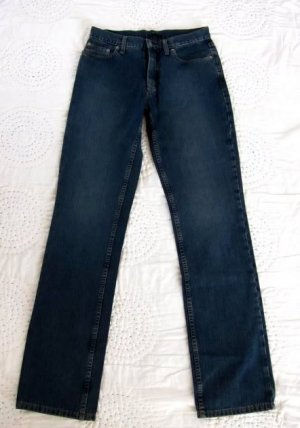 Sisley High Waist Jeans dark blue