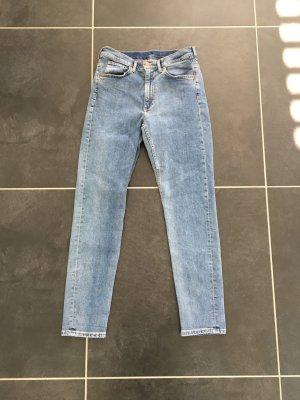 COS High Waist Jeans multicolored mixture fibre