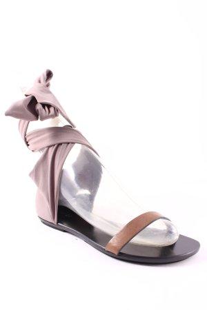 High Sandalen grau-hellbraun klassischer Stil