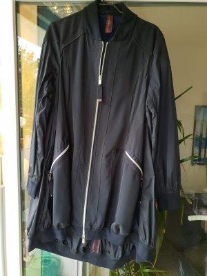 High Abrigo corto azul oscuro