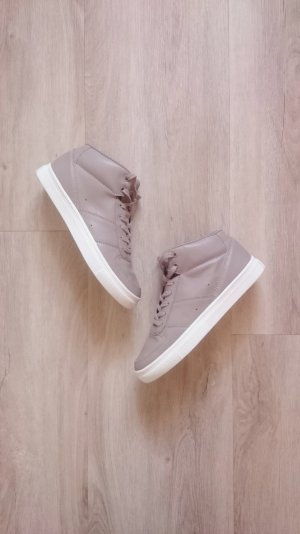 High Top Sneaker beige/grau Gr. 36