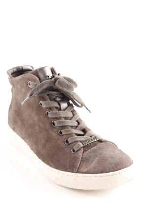 High Top Sneaker dunkelgrau Casual-Look