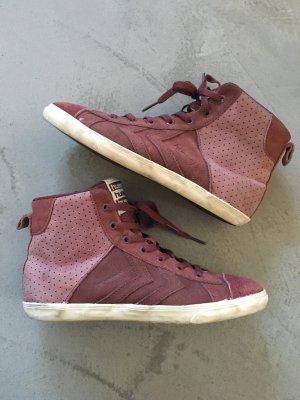 High-Top-Sneaker // Hummel