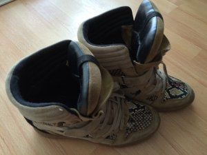 High-top Sneaker in Isabel Marant Style