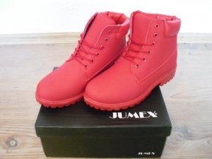 High Top Sneaker in leuchtenden ROT