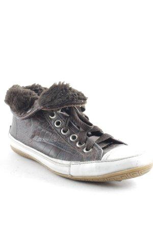 High Top Sneaker mehrfarbig Casual-Look
