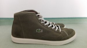 High Top Sneaker olivgrün von Lacoste