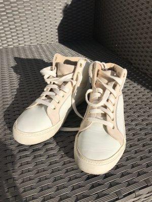 High Top Sneaker von GANT in Pastellfarben Creme/weiß/puder