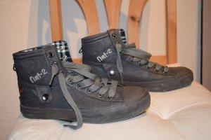 High Top Sneaker von Nat-2 in dunkelgrau Größe 38