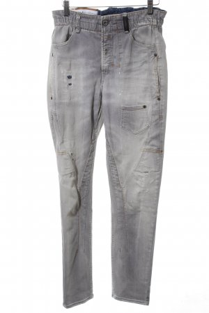 High Use Baggy Jeans light grey casual look