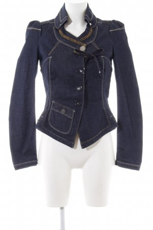 High Use Jeansjacke mehrfarbig extravaganter Stil
