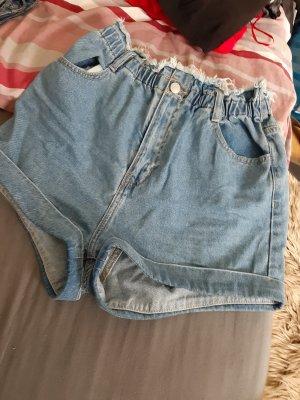 Tally Weijl High-Waist-Shorts blue