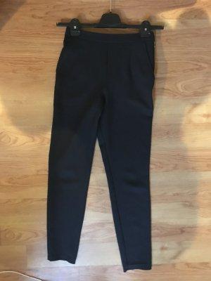 Asos Pantalón de cintura alta negro-color bronce