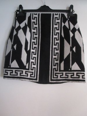 High Waist Azteken Print Rock Zara M