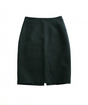 high waist bleistiftrock / vintage / grau / classy