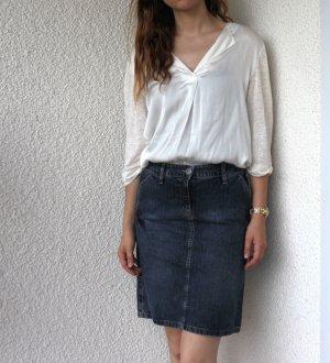 High Waist Blogger tailliert Jeans Rock Bleistift jeansrock Vintage