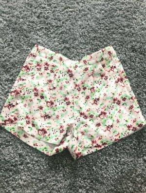 High waist Blümchen Shorts