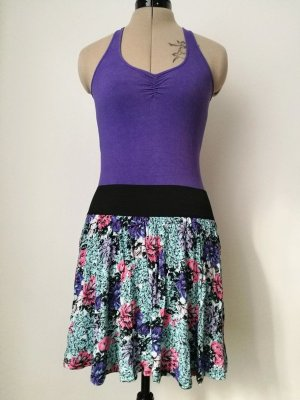 H&M Divided High Waist Skirt multicolored